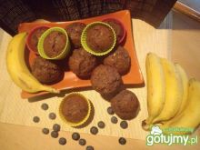 Babeczki kakaowo-bananowe