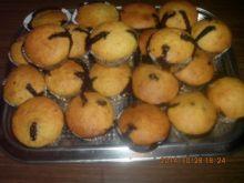 Babeczki kokosowo-czekoladowo-orzechowe