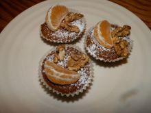 Babeczki marchewkowo-pomarańczowe