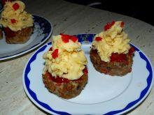 Babeczki mięsne z delikatnym kremem ziemniaczanym