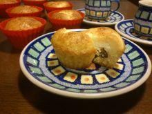 Babeczki - muffiny serowe z rodzynkami