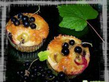 Babeczki owocowe glazurowane miodem