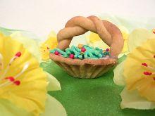 """Babeczki """"Wielkanocny koszyczek"""""""