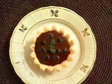 Babeczki z czekoladą i borówkami