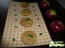 Babeczki z jabłkami.