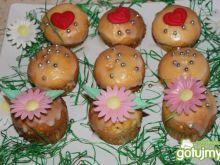 Babeczki z lukrem cytrynowym