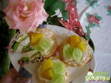 'Babeczki' z owocami