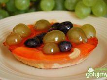 Babeczki z owocami  na kruchym cieście