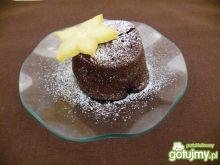 Babeczki z płynną czekoladą
