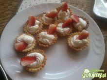 Babeczki z truskawkami wg mariel