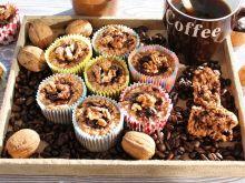 Babeczki z ziaren ekspandowanych czeko,kawa,orzech