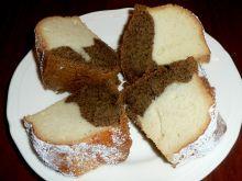 Babka kawowa z białek