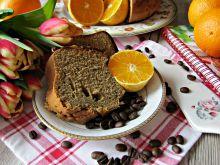 Babka kawowo - pomarańczowa z jogurtem