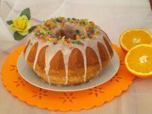 Babka pachnąca pomarańczą