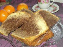Babka pomarańczowa czarno-biała