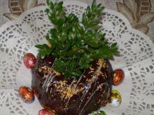 Babka ucierana kakaowa z polewą :