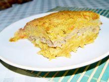 Babka ziemniaczano-marchewkowa z mięsem