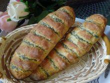 Bagietki ziolowo - czosnkowe (bez drożdży)
