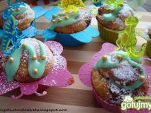 Bajeczne muffiny z białą czekoladą