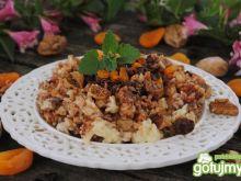 Bakaliowo-czekoladowe risotto