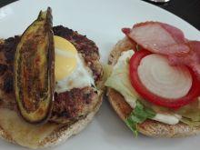 Bakłażanowe hamburgery