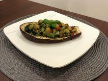 Bakłażany z farszem warzywnym