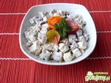 Bakłażany z serem feta i orzechami