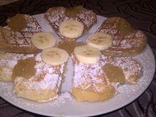 Bananowe gofry
