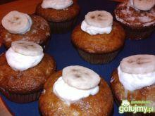 Bananowe muffinki.