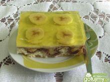 Bananowiec z galaretką wg bietka