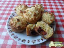 Bananowo-marchewkowe muffiny ze śliwkami