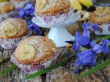 Bananowo- orzechowe muffinki