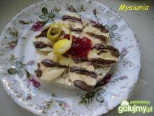 Bananowy deser z cytrynową nutą