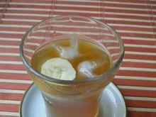 Bananowy koktajl z lodem