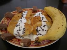 Banany w cieście