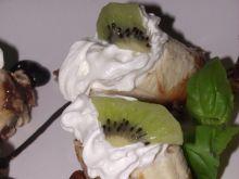 Banany w czekoladzie z orzechami