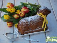Baranek Wielkanocny - babka pomarańczowa