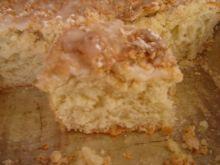 Bardzo lekkie ciasto drożdżowe