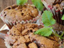 Bardzo smaczne muffinki czekoladowe
