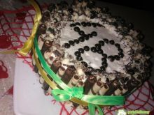 Bardzooo słodki tort