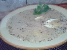 Barszcz biały z jajkiem