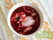 barszcz czerwony z grzybami 3