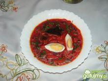 Barszcz czerwony z ziemniaczkami 4