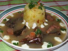 Barszcz grzybowy do ziemniaków