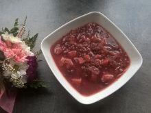 Barszcz ukraiński z czerwoną fasolą