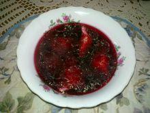 Barszczyk czerwony na rosole