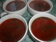 Barszczyk czerwony świąteczny