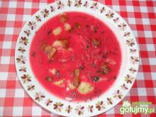 Barszczyk czerwony zabielany
