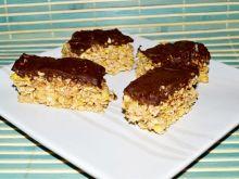 Batoniki musli z czekoladą