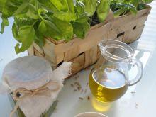 Bazyliowe pesto z ziarnami słonecznika